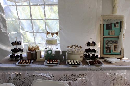 DIY Wedding cupcakes