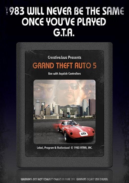 GTA 5 Atari Version