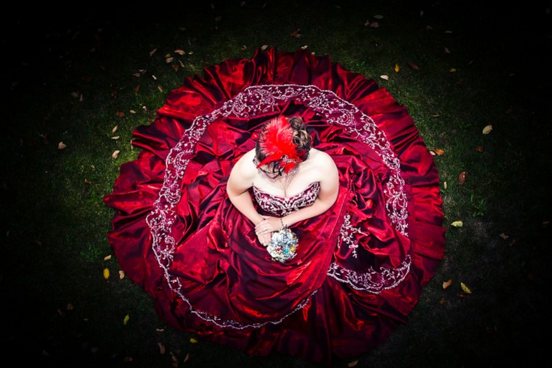 A Bride or a Rose