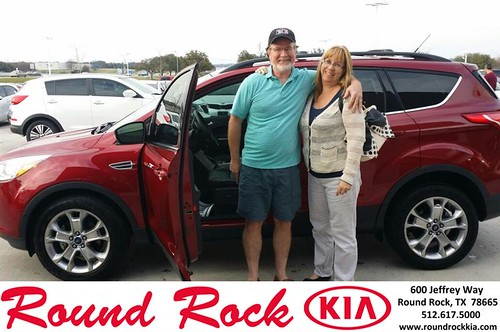 Congratulations to Glenn Haskins on your #Ford #Escape purchase from Fernando Fernandez at Round Rock Kia! #NewCar by RoundRockKia