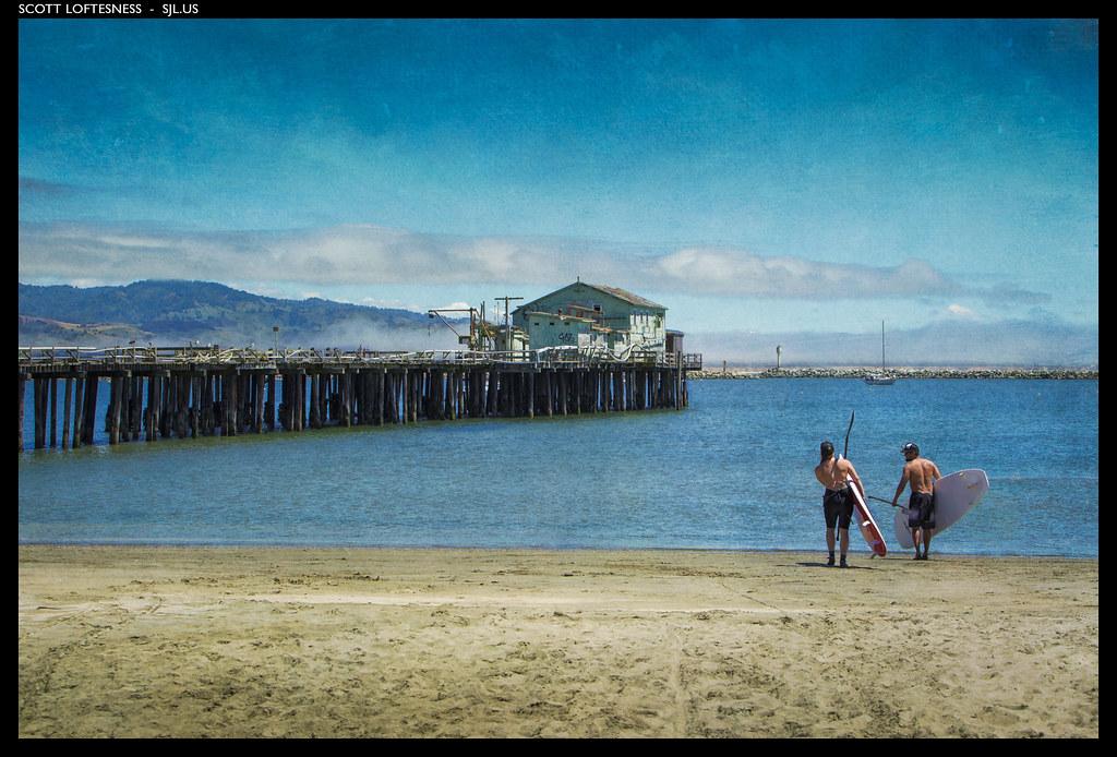 Paddleboarders - Princeton Harbor - 2012