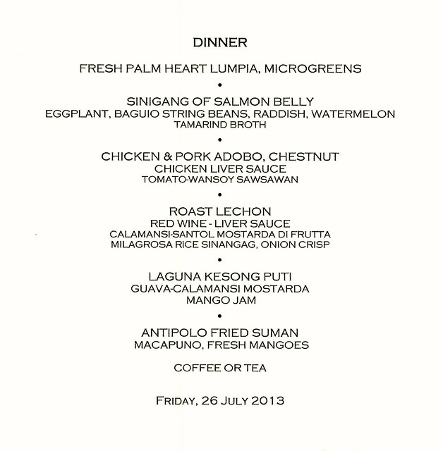 Dinner for Adrian Joffe