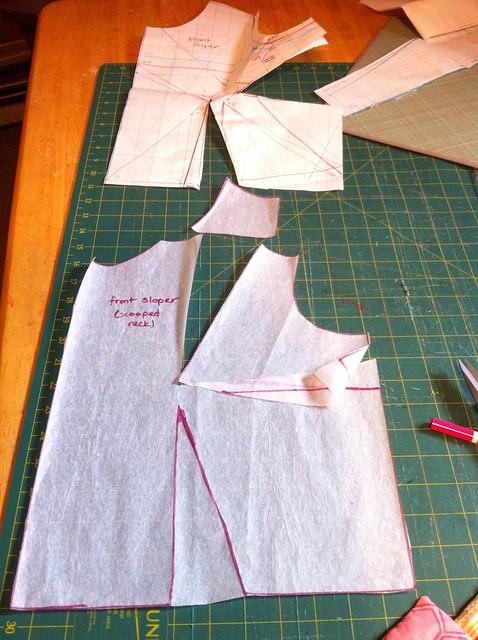 Self-drafted Dress