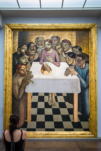 The Last Supper, Modern, Gustave vad de Woestjne, Groeningmuseum, Bruges