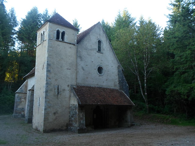 Chapel of St. Lazarus, near Varzy. Used for the leper colony nearby.