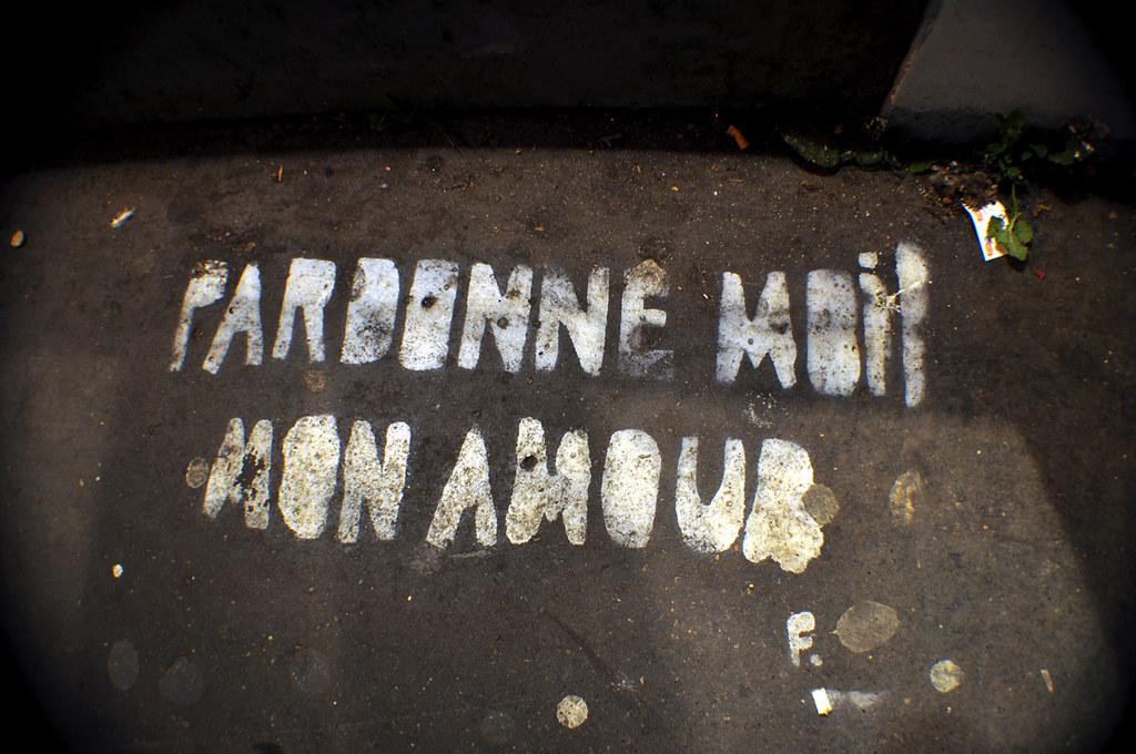 Pardonne Moi Mon Amour Je Taime F