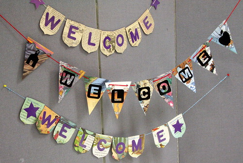 110/365 - Welcome Banners