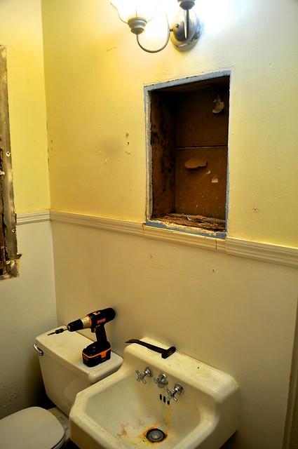 2012-02-04 Bathroom demolition 01
