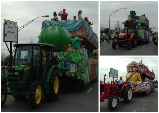 2014 Irish-Italian Parade, Metairie