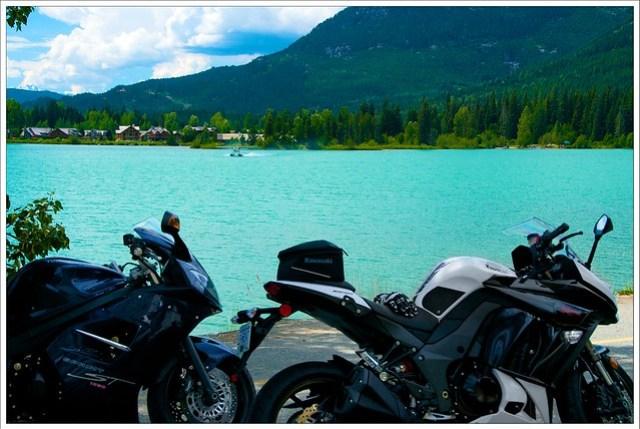 Stopped at Green Lake