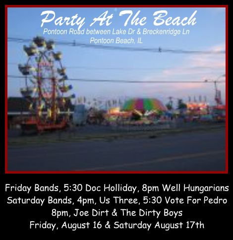 Party At The Beach 8-16, 8-17-13