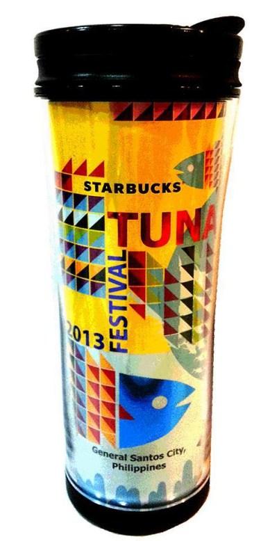 STARBUCKS GENSAN TUMBLER, STARBUCKS TUNA FESTIVAL TUMBLER