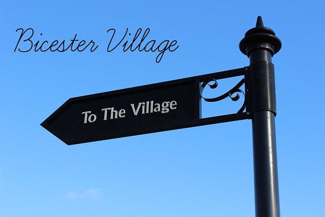 Bicester Village text