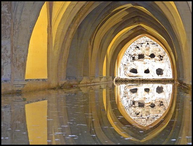 Reflejos, Alcázar de Sevilla