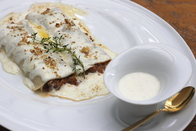 Veal and Beef Canelloni Bolognese
