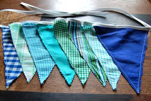 Studio Paars bunting vlaggenslinger