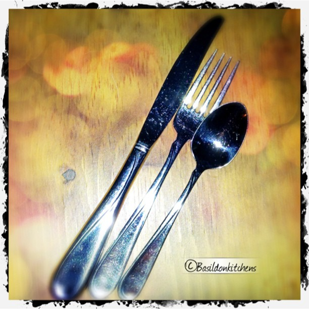 July 9 - 3 things {knife, fork & spoon} #fmsphotoaday #knife #fork #spoon #utensils #everyday #cutlery
