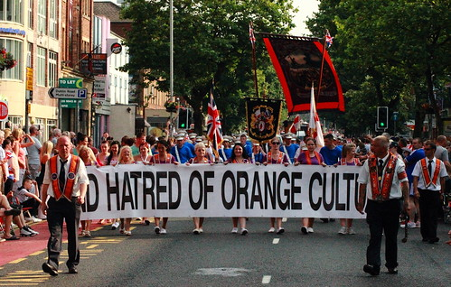 Hatred Of Orange Cult