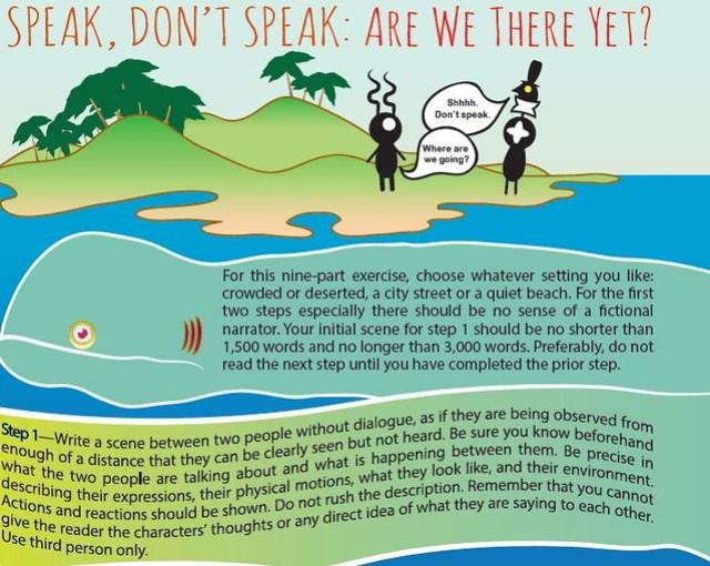 Speak Do Not Speak--wonderbook
