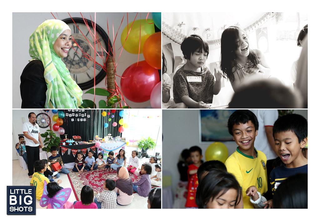 Happy Birthday Ishaq & Maisarah