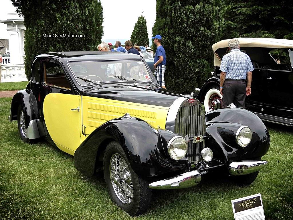 1938 Bugatti Type 57 Ventoux Coupe