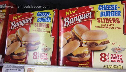 Banquet Cheeseburger Sliders