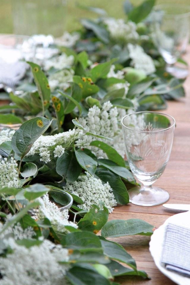 botanical runner and glass-erin boyle for gardenista