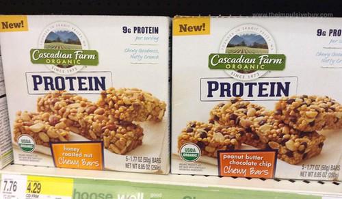 Cascadian Farm Protein Chewy Bars