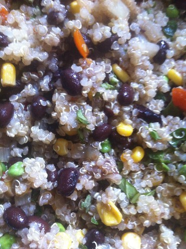 Cooking: Black Bean Quinoa Casserole