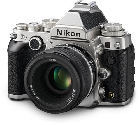 Nikon-df-silv-lens