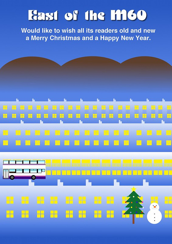 East of the M60's Christmas Card for 2013