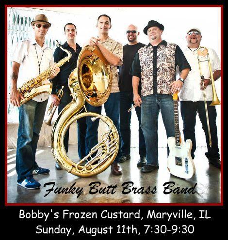 Funky Butt Brass Band 8-11-13