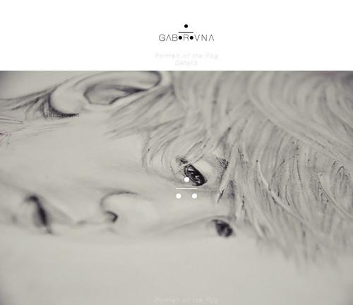 Portrait of Fog (Baekhyun fanart) - Details