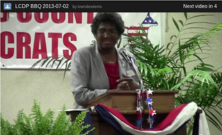 Joyce Evans, District 1, Lowndes County Commission