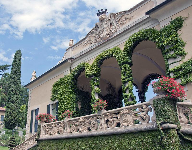 Villa Balbianello - Logia