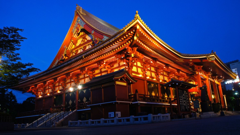 Asakusa at the twilight hour
