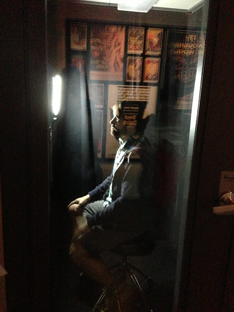 Mike in the Scream Booth