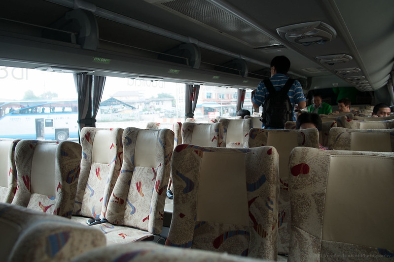 bus from Chiang Mai to Chiang Row