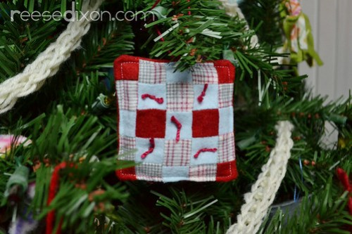 Miniature Quilt Ornament