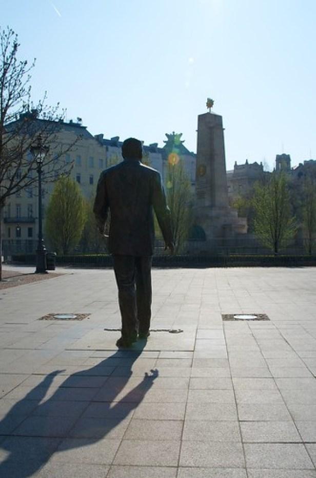 Памятник Рональду Рейгану, Будапешт, Венгрия