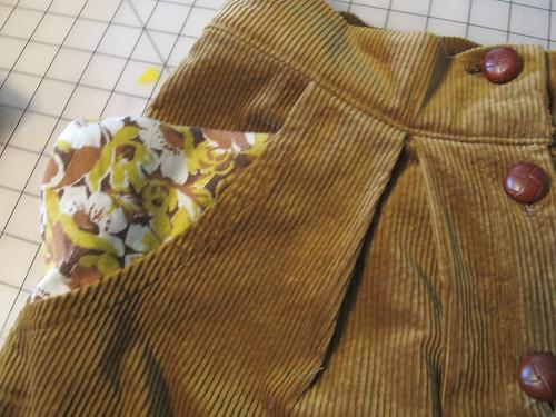 Corduroy Kelly Skirt