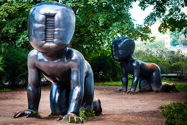 David Cerny Baby Statues, Prague