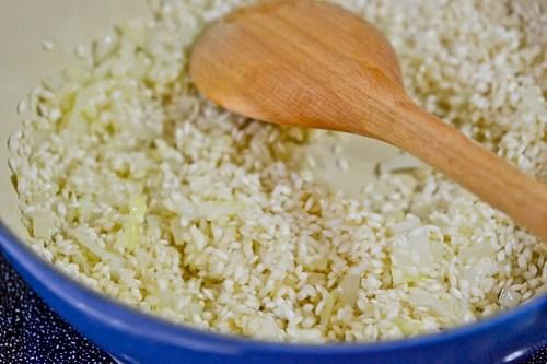 Broccoli-Cheddar Oven Risotto-3