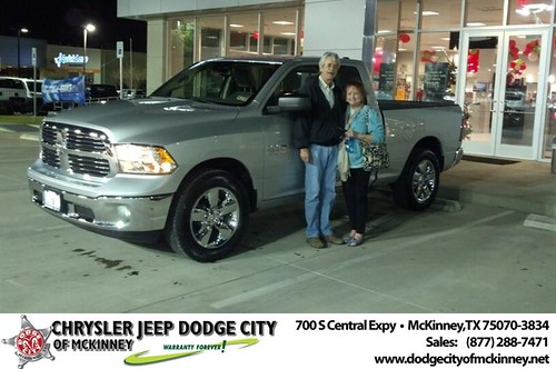 Thank you to Danuel Dziuba on your new 2014 #Ram #1500 from Bobby Crosby and everyone at Dodge City of McKinney! #NewCar by Dodge City McKinney Texas