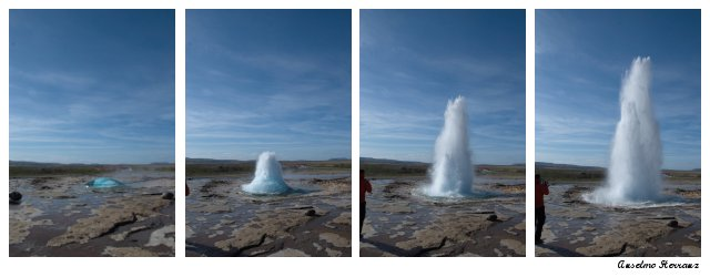Geiser Strokkur - Geysir - Islandia