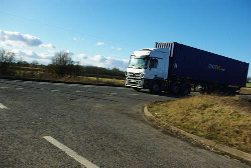 20120219-54_Unit45 Truck/Lorry on A5 (Watling Street) by gary.hadden