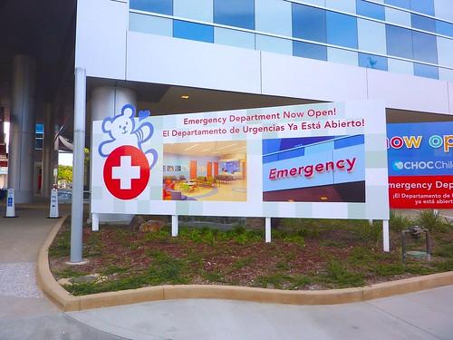 CHOC Emergency - temp advertising