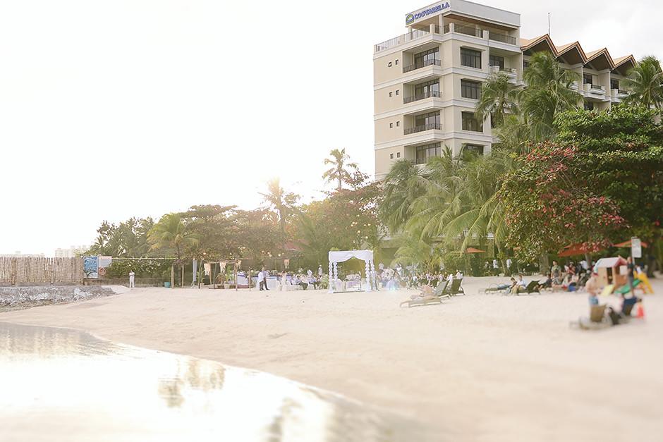 Costabella Tropical Beach Hotel, Cebu Destination Wedding Photographer
