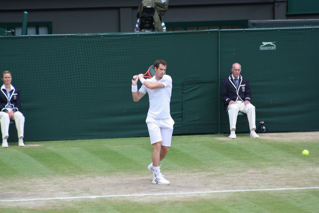 Wimbledon Andy Murray Backhand