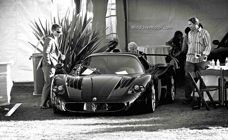Black Maserati MC12
